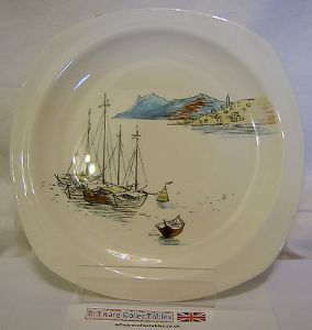 Midwinter 'Riviera' 8.75 inch Plate - 1950s - SOLD